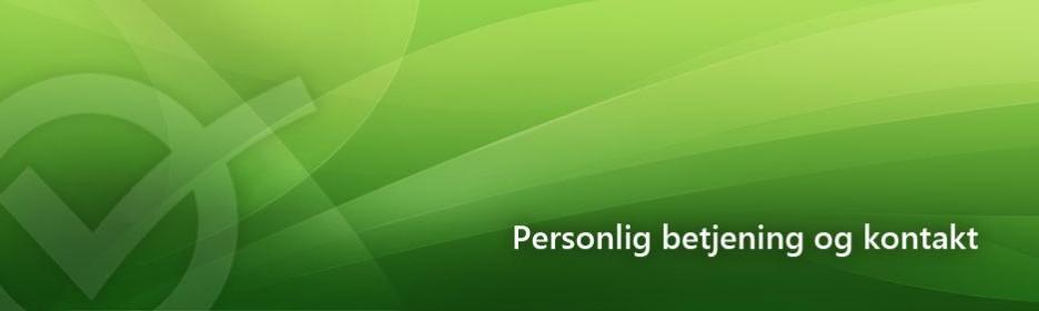 Personlig betjening